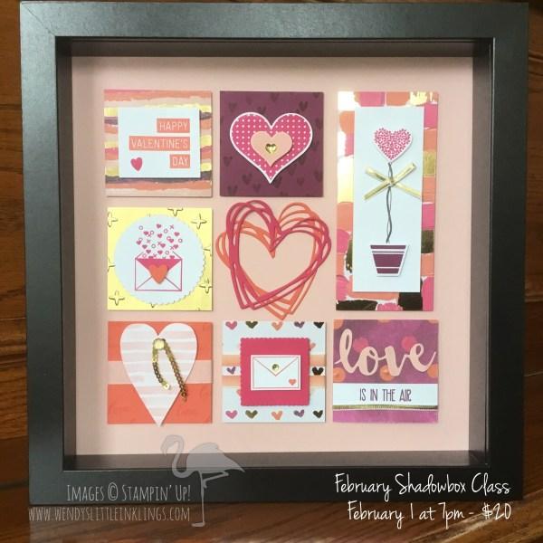Wendy's Little Inklings: Valentine Shadowbox