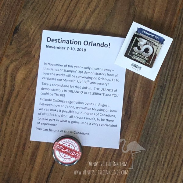 Wendy's Little Inklings: Stampin' Up! 30th anniversary pin