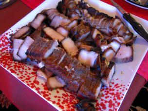 Sliced porkbelly
