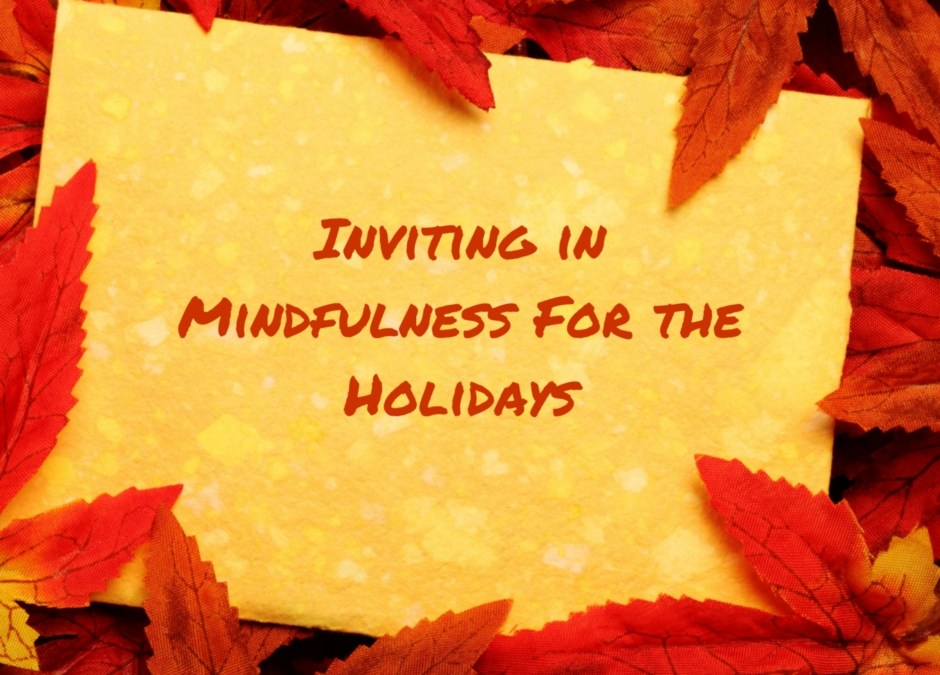 Let's Make This a Holiday Season of Personal Growth