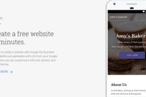 Create Free Google Business Website