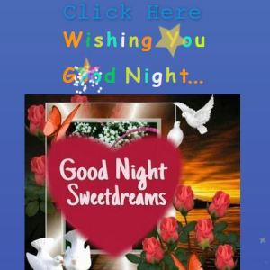 How to make good night wishing website script