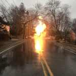 Wenham Police and Fire Respond After Downed Utility Wire Ignites Underground Gas Line