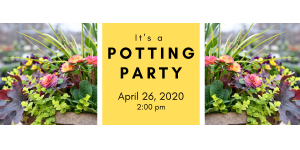 Spring Potting Party 4/26/20 @ 2:00 pm @ Wenke Greenhouse Retail Store | Kalamazoo | MI | US