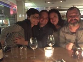 Ein Abend mit Freunden.