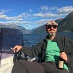 Ein Franke trinkt auch in Norwegen Meister.