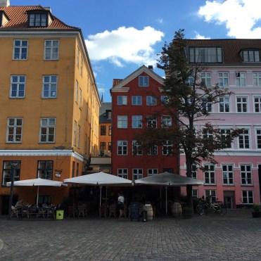 Ein ruhiges Stadtviertel für eine Pause