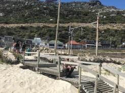 Andreas will keinen Sand in den Schuhen