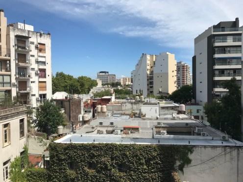 Unser Hinterhof in Palermo Soho