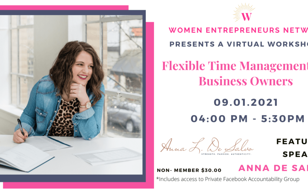 Flexible Time Management for Business Owners