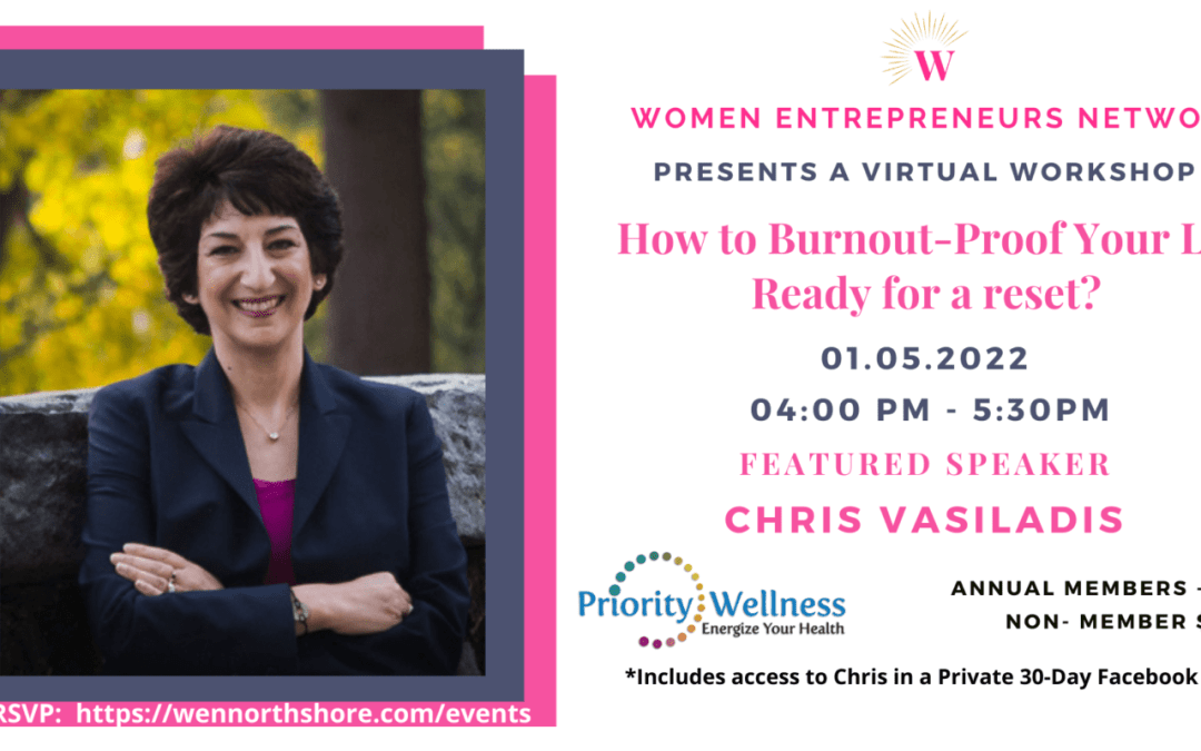 How to Burnout-Proof Your Life – Ready for a reset?