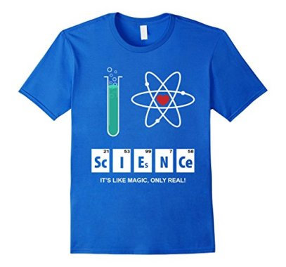 I Love Science - Atomic Whirl Azmazon Royal Blue