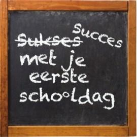 Kaartje eerste schooldag (4)