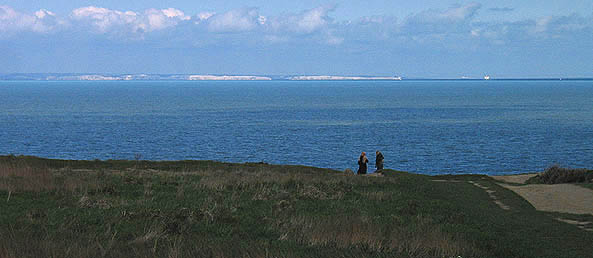Engish Channel, view to France