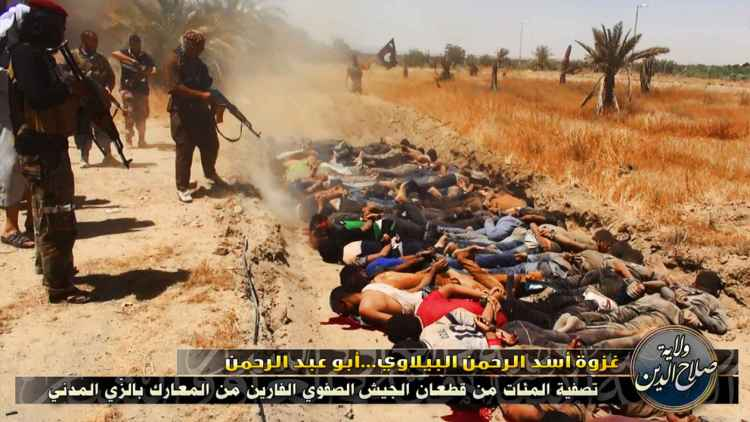 Isis murdering Christians