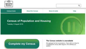 Census fail website