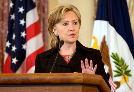 Secretary of State Hillary Clinton -- access for sale