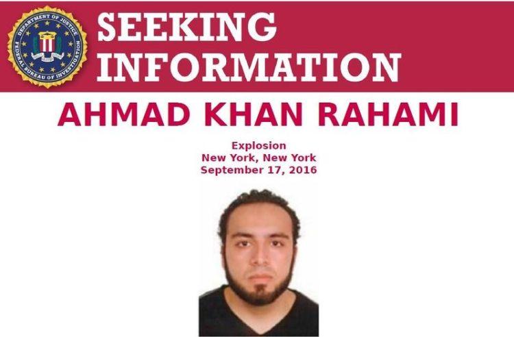 SEEKING INFORMATION Ahmad Khan Rahami