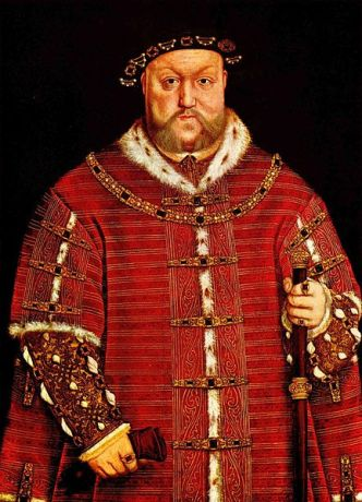 Henry VIII of England, who instiaged the first Brexit in 1534, braking England away from Rome