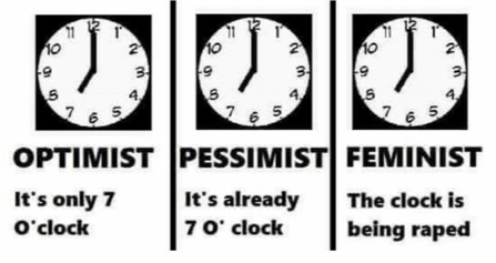 feminism and clock