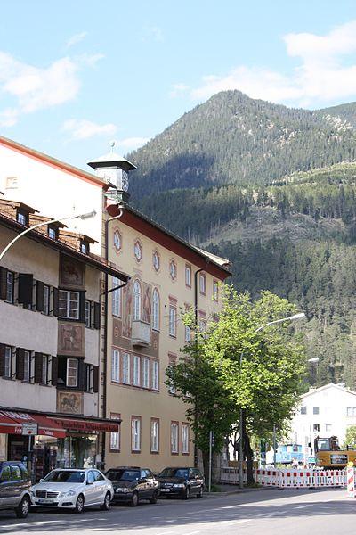 Garmisch-Partenkirchen, the town hall