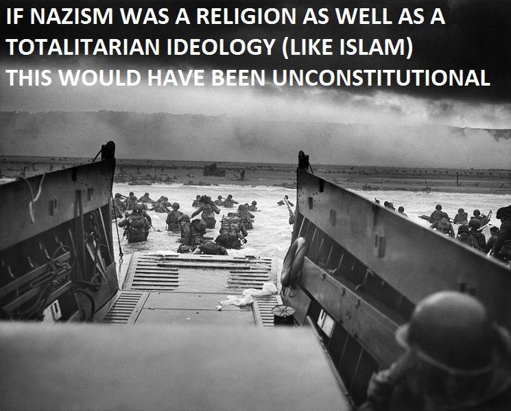 d-day-omaha-beach-nazis-islam-unconsitutional