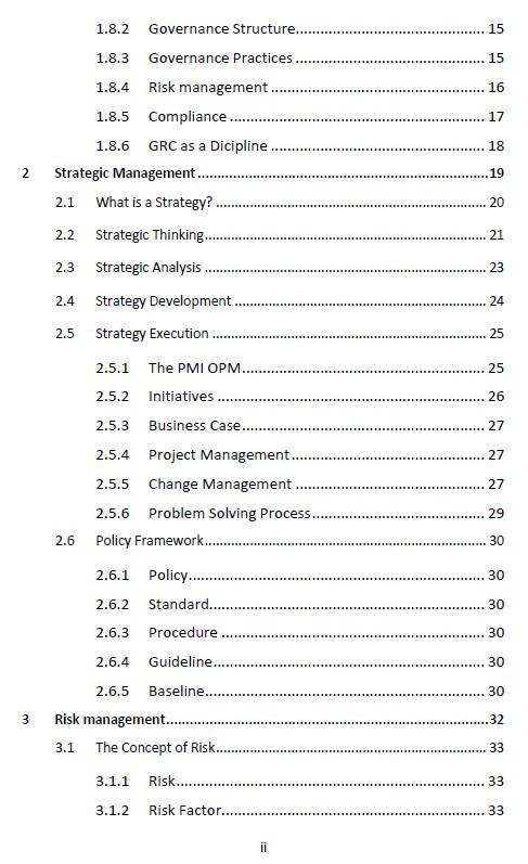The Effective CISSP Contents 2