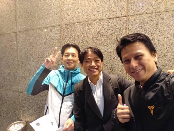 張展碩 (Ethan Chang), 林銘鴻 (Sky Lin), and 吳文智 (Wentz Wu)