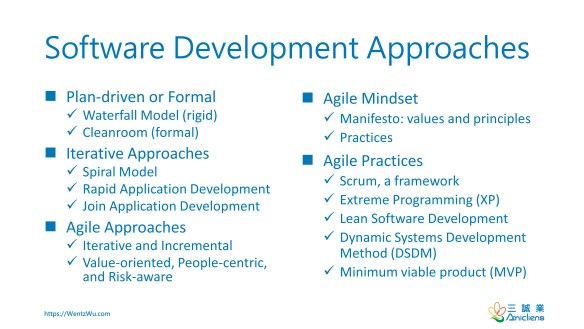 Software Development Approaches