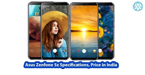 Asus Zenfone 5z Specifications, Price in India