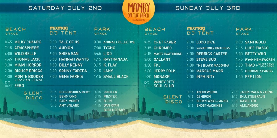 We Own The Nite NYC_Mamby on The Beach 2016_Set Times