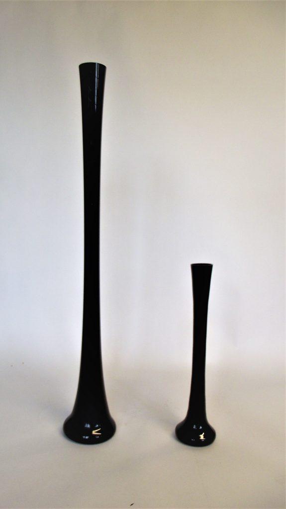 Black Lily Vases Prop Hire Bath Wedding Event Prop Hire