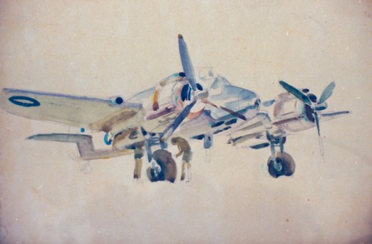 Beaufighter, possibly at Coomalie Creek, Northern Territory, 194