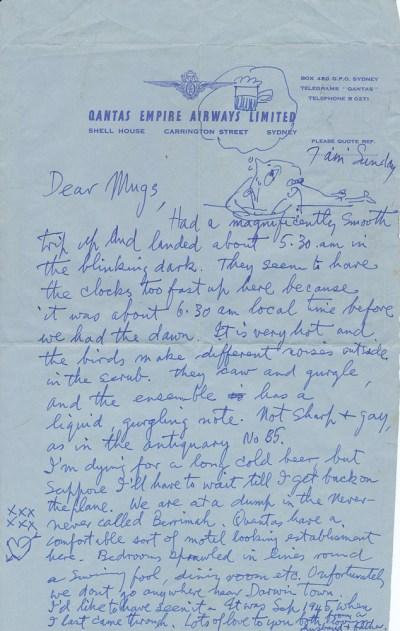 Darwin, 23 Sep 1956