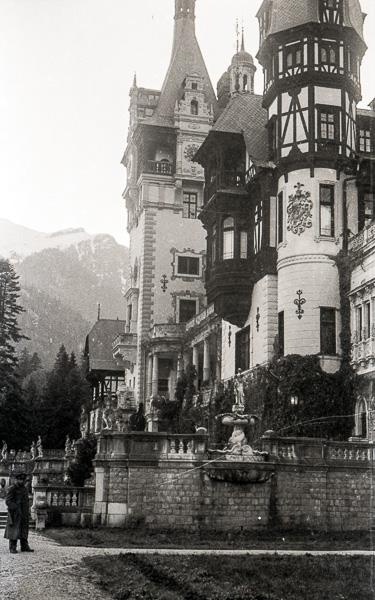 Peles Castle, Sinaia, Romania; 12 October 1956