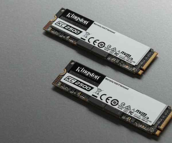 Kingston introduced its new KC2500 line SSDs up to 2TB