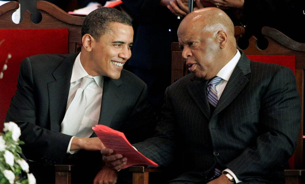 Congressman John Lewis, historic civil rights leader, dies