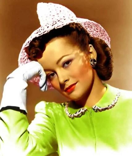 Olivia de Havilland, in a file image.