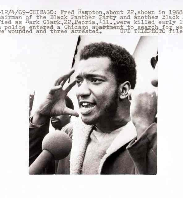 Illinois Black Panther Leader Fred Hampton