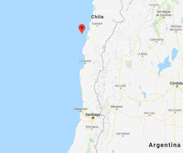 Strong earthquake in northern Chile causes some damage
