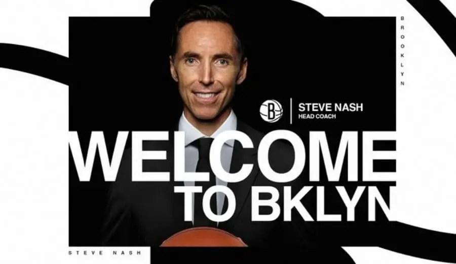 Steve Nash, New Coach Of The Brooklyn Nets
