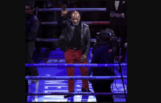 Mike Tyson Returns To The Ring
