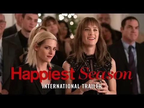 'Happiest Season': Kristen Stewart Stars In A Romantic Comedy; See Trailer