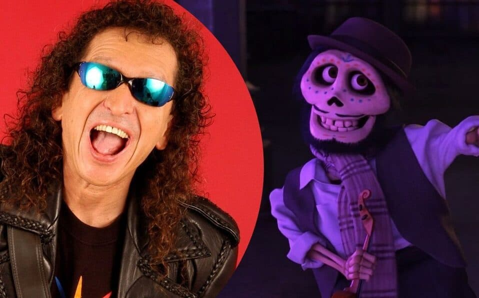 Alex Lora and his character 'Coco', the Disney movie