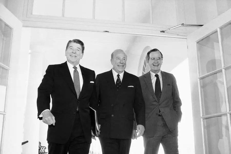 US Secretary of State George Shultz Dies At 100