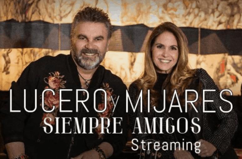 Lucero and Manuel Mijares