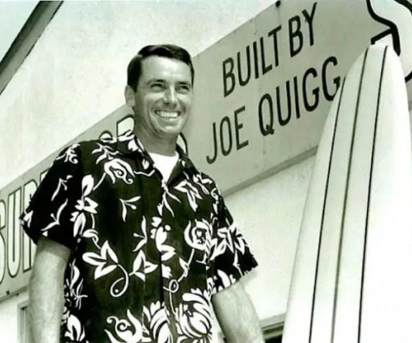 Master shaper Joe Quigg Died