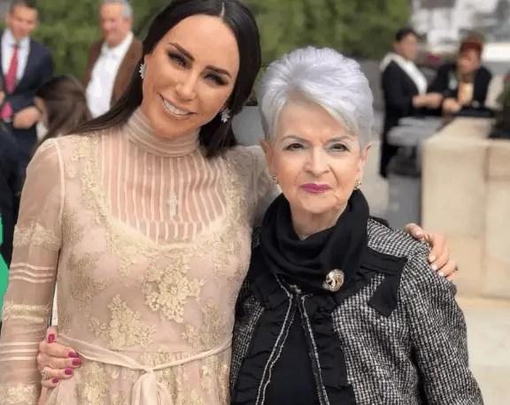 Inés Gómez Mont Is In Mourning, Her Grandmother Dies