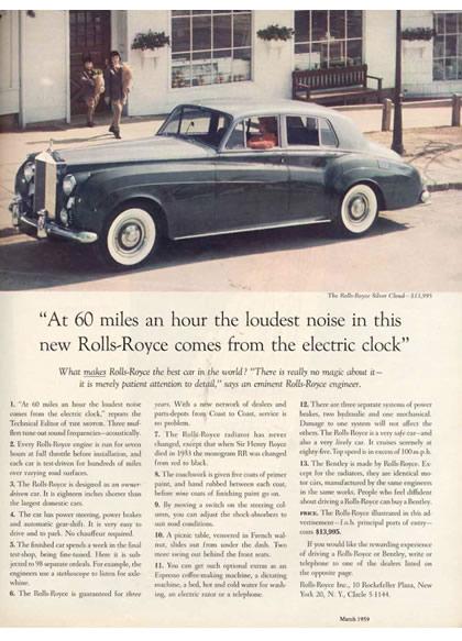 Image - Rolls Royce - Long copy ad