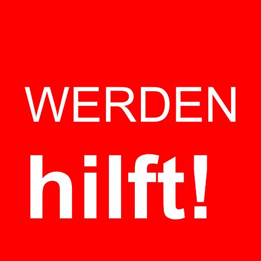 Logo Werden hilft